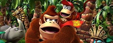 Donkey Kong - Country Returns - Fundorte der Puzzleteile und KONG-Buchstaben