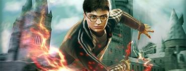 Harry Potter und der Halbblutprinz - Alle Wappen und Löwenstatuen